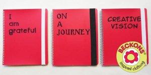 Beckons Yoga Clothing journal writing blog