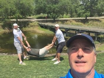Best Golf Cart Selfie - Dixie Southern