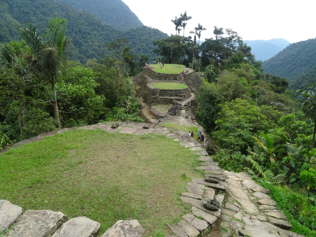 The impressive Lost City in Colombia