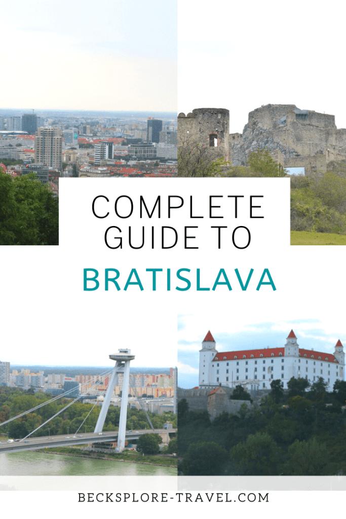 Bratislava Slovakia, Pinterest Pin