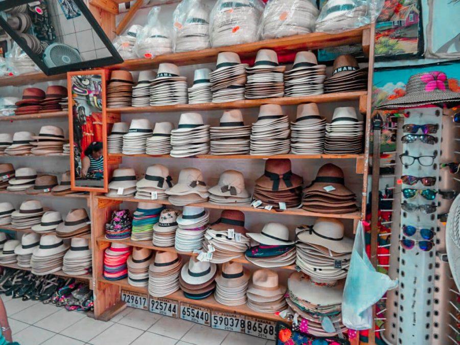 Hats in Panama City