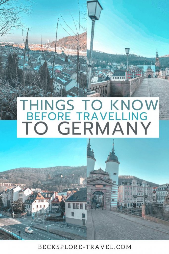 Things you should know before traveling to Germany #Europe