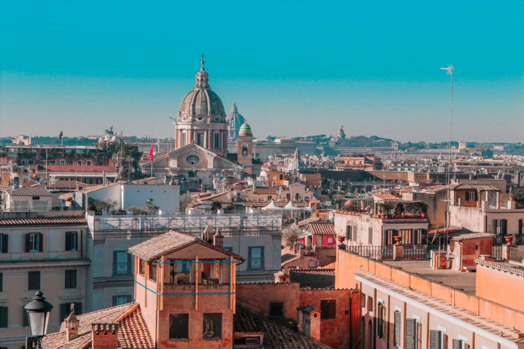 A picture of beautiful Rome which I got to visit last year