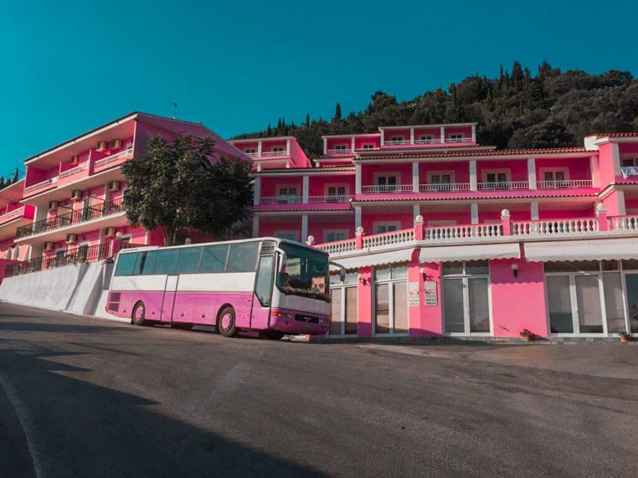 Pink Palace Hostel Corfu