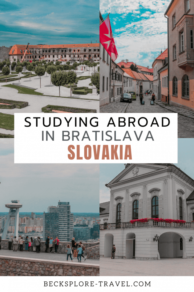 Things to know before studying abroad in Bratislava, Slovakia #Erasmus #Studyabroad #EasternEurope