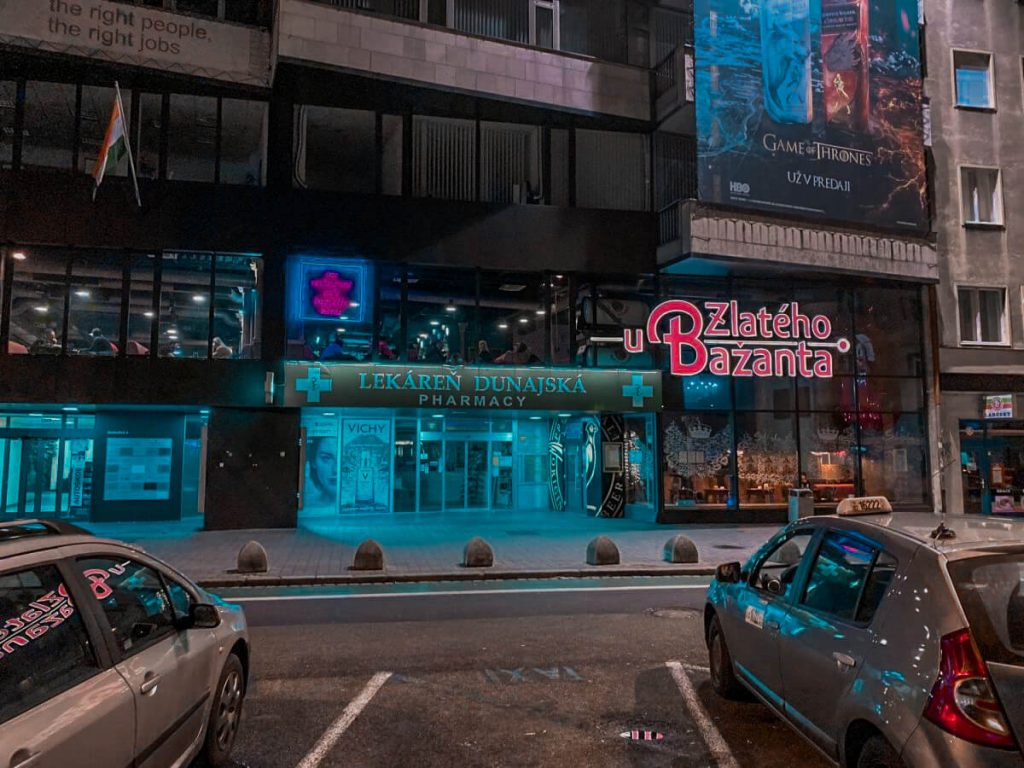 best bars and clubs in bratislava