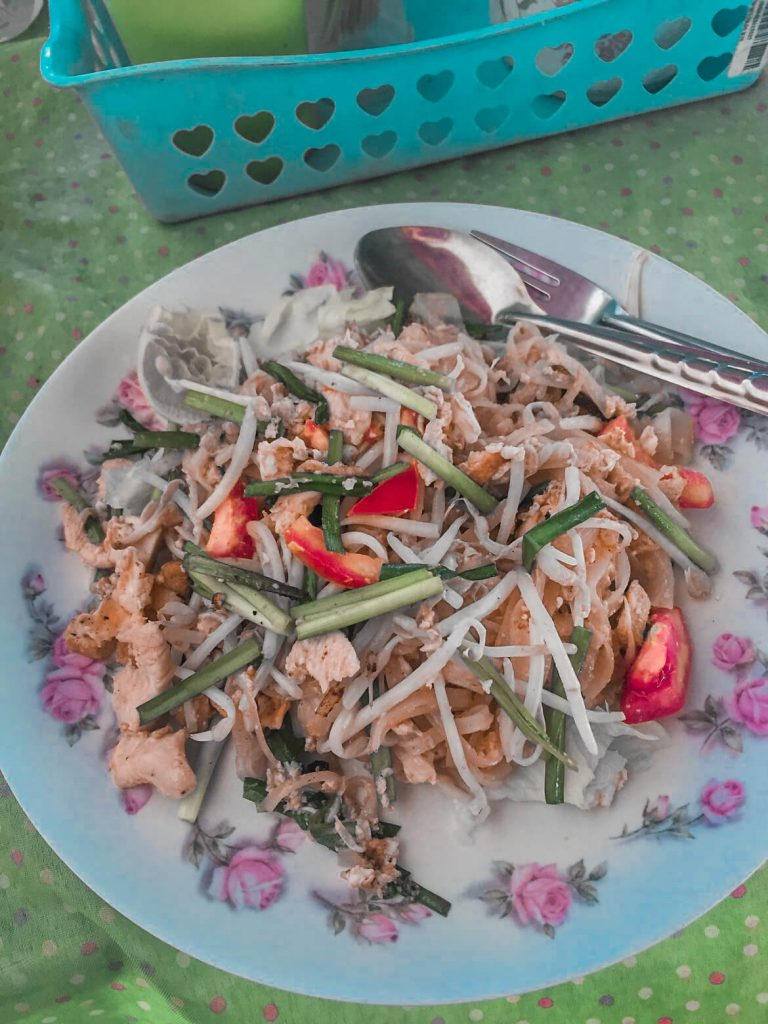 Pad Thai in Thailand aka my favourite food in the world