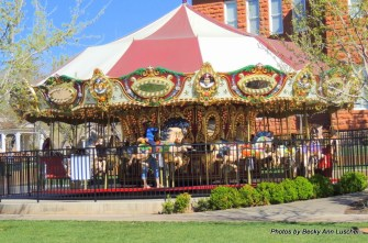 The Carousel in Saint George, Utah