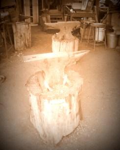 Blacksmith's anvils