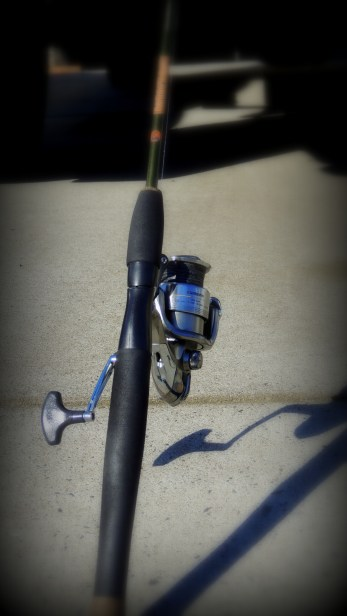 My Gatorback trout pole....