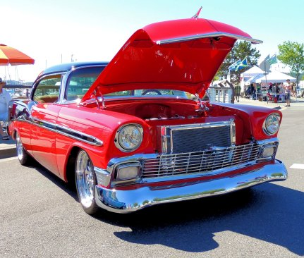 '56 Chevy Belair B&R: Top 20% award for the week of 7/31/16; Top 20% award for the month of August!