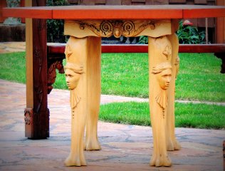 Ornate Table Legs: Top 20% award for the day of 2/3/16...