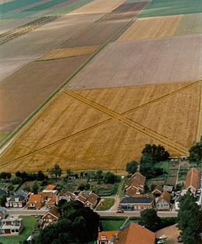 Not a crop circle but a crop 'X'