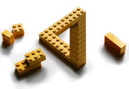 If Escher played with Lego...