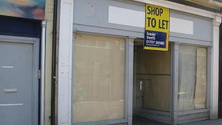 You see empty shop, I see gallery