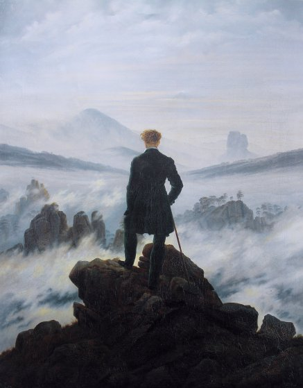 The epitome of sublime art: Wanderer Above a Sea of Fog