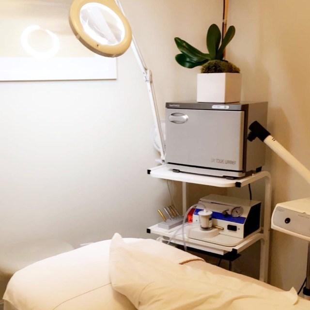 Barba Skin Care facial room