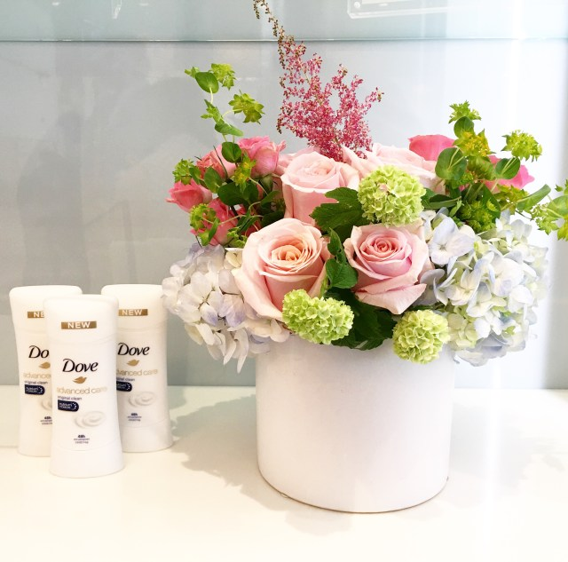 Barba Skin Care flowers and Dove
