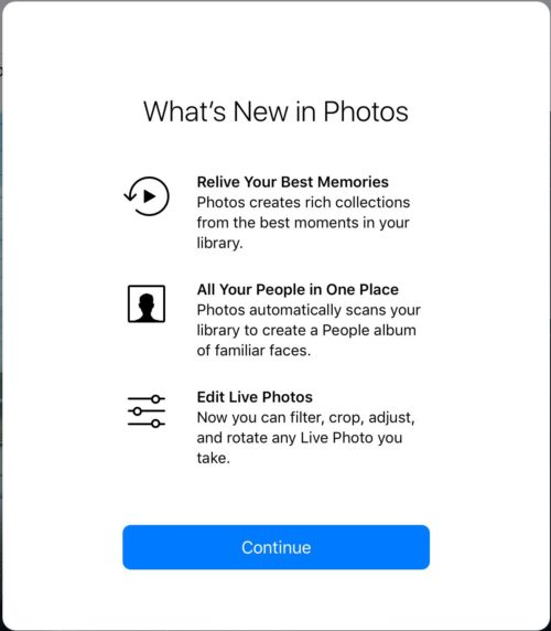 What's New in Photos