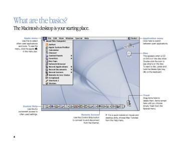 Basics of Mac OS 9