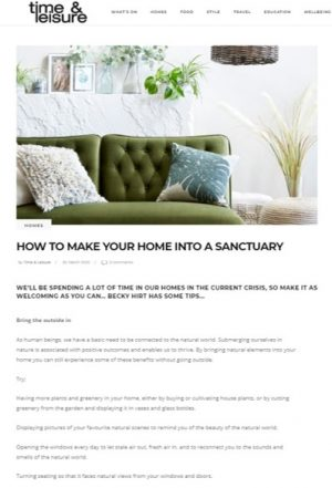 Creating a sanctuary cover image