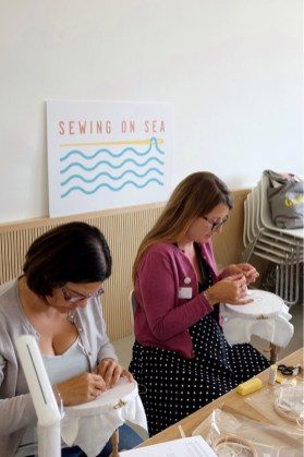 Sewing on Sea