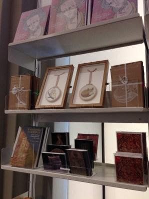 Kits on display at the V&A