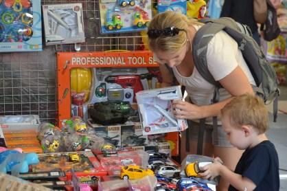 """www.toddlejoy.com enjoying the """"toy market"""""""