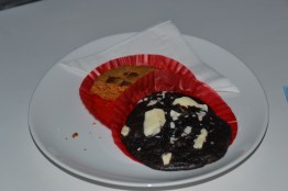 For the chocolate lovers: black and white chocolate chip cookie