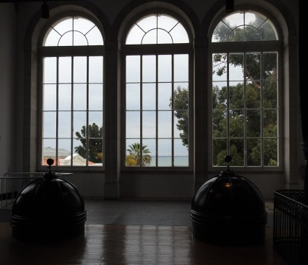 Looking out from the Pumping House across the Tagus