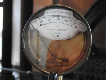 Measuring the pressure