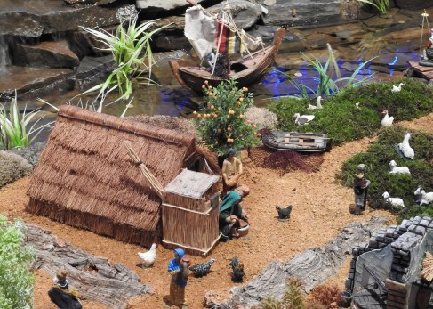 Traditional fishermen's hut