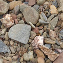 but the pebbles are pretty