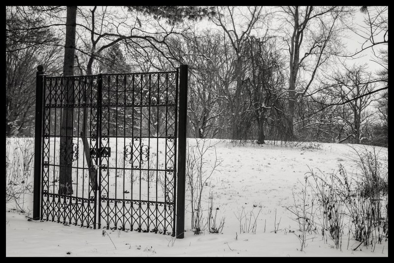 The gate that goes nowhere - the influence of humans on nature