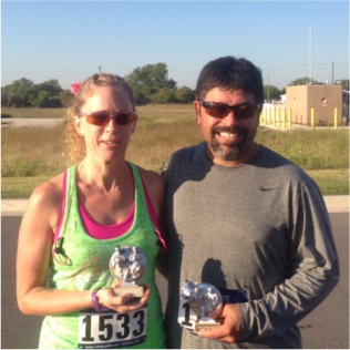 James & Becky Race Pic
