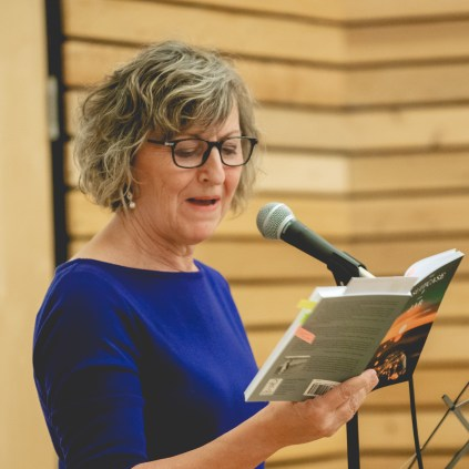 Becky Livingston, writer of The Suitcase and the Jar