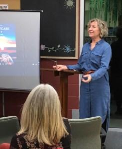 Writer Becky Livingston