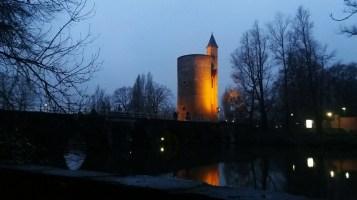 Minnewater Bridge, Bruges