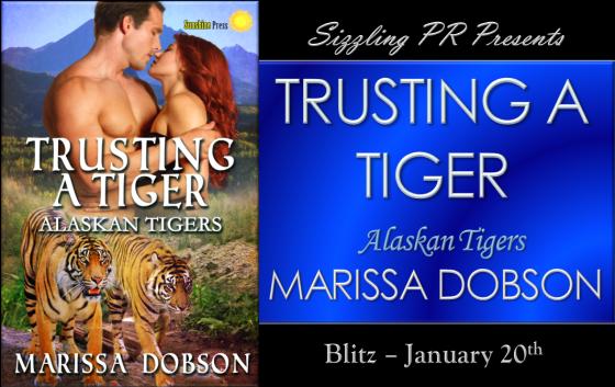 Trusting A Tiger - Marissa Dobson - Banner