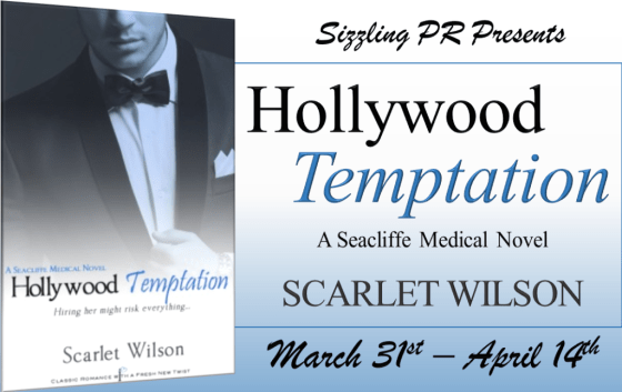 Hollywood Temptation by Scarlet Wilson