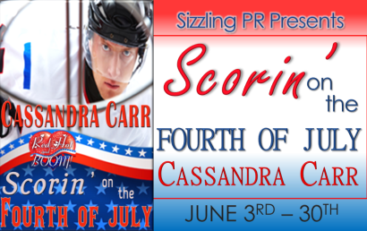 Scorin on the Fourth CC Banner