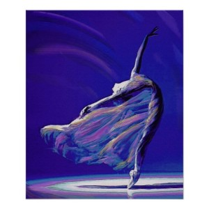 Dancer in Rest Motion print