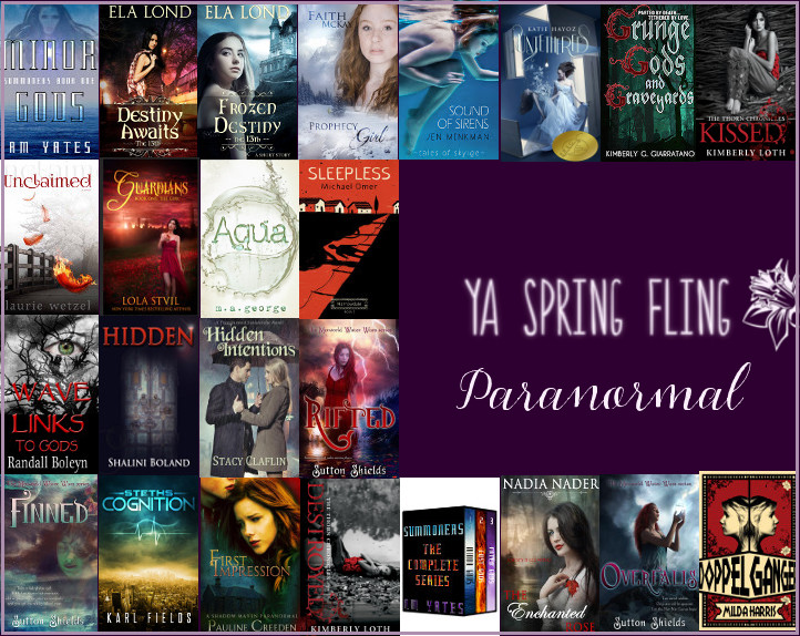 YA Spring Fling Paranormal