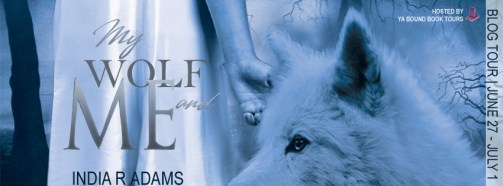 My Wolf and Me tour banner