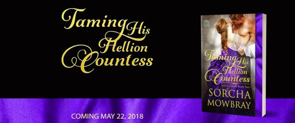 Taming His Hellion Countesss Preorder banner