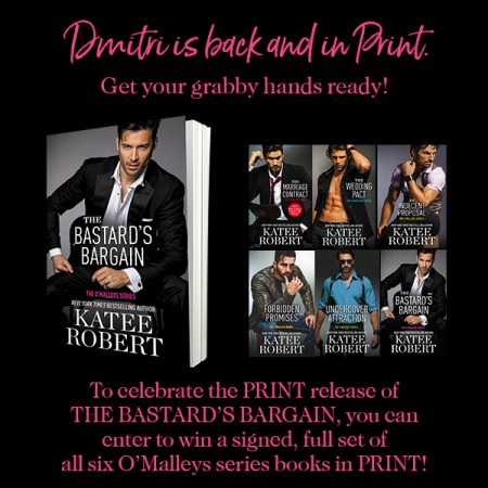 Giveaway graphic: Dmitri is back, and in print!