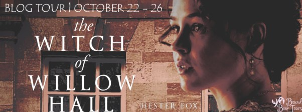 The Witch of Willow Hall tour banner