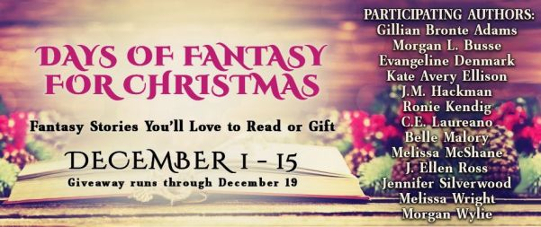 Days of Fantasy for Christmas tour banner