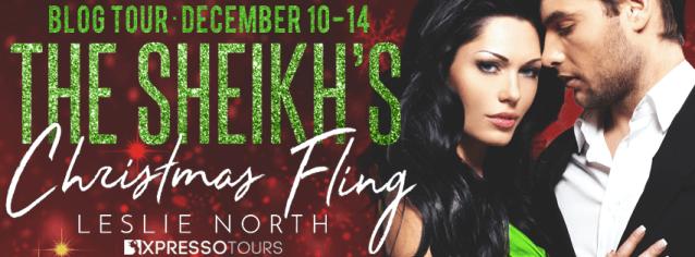 The Sheikh's Christmas Fling tour banner