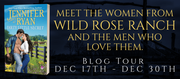 "DIRTY LITTLE SECRET tour banner: ""Meet the women from Wild Rose Ranch and the men who love them."""